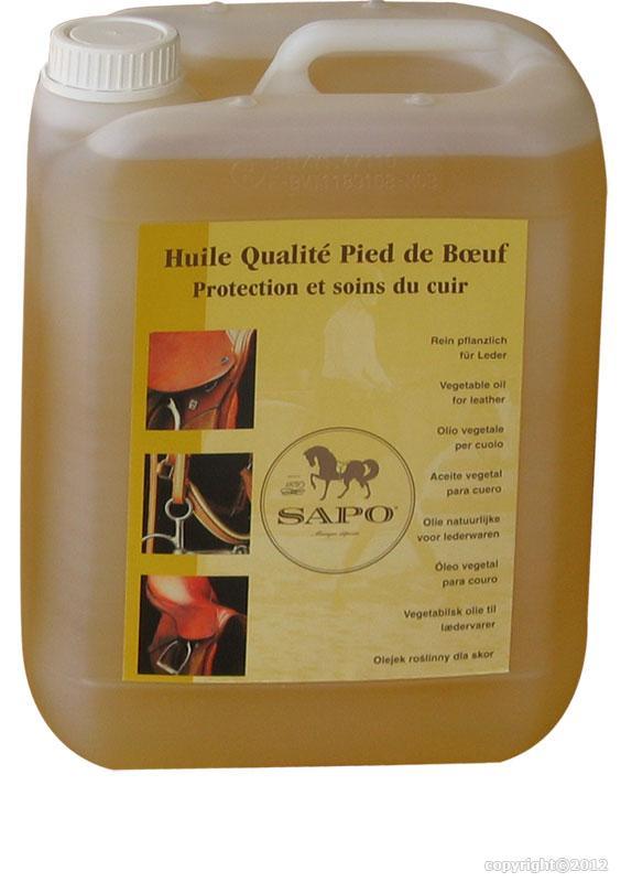 sapo huile qualit pied de boeuf bidon de 5 litres 50320 produits techniques pour la. Black Bedroom Furniture Sets. Home Design Ideas